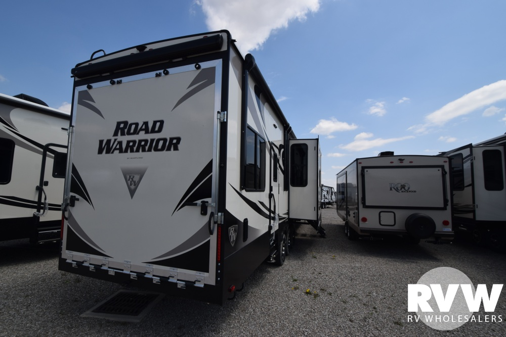 2020 Road Warrior 426 Toy Hauler Fifth Wheel By Heartland
