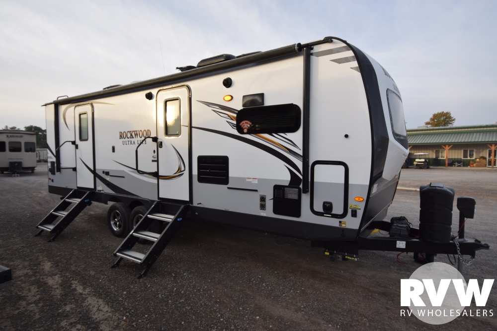 2019 Rockwood Ultra Lite 2608bs Travel Trailer By Forest