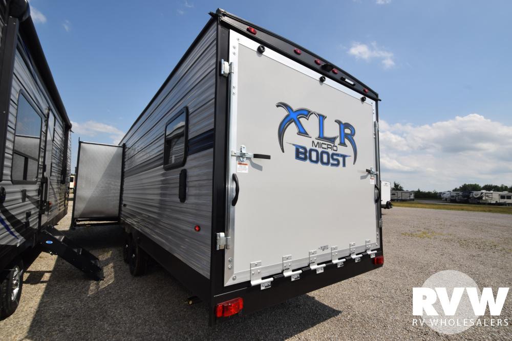 2020 XLR Micro Boost 27LRLE Toy Hauler Travel Trailer by