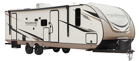 Forest River RV Heritage Glen Hyper-Lyte Travel Trailers