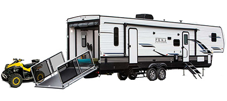 Palomino Puma Toy Hauler Fifth Wheels