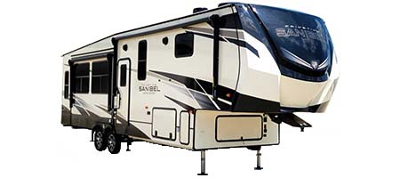 Prime Time RV Sanibel Fifth Wheels