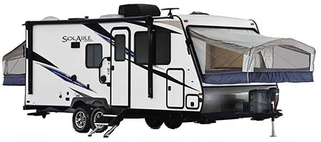 Palomino Solaire Expandables Hybrid Campers