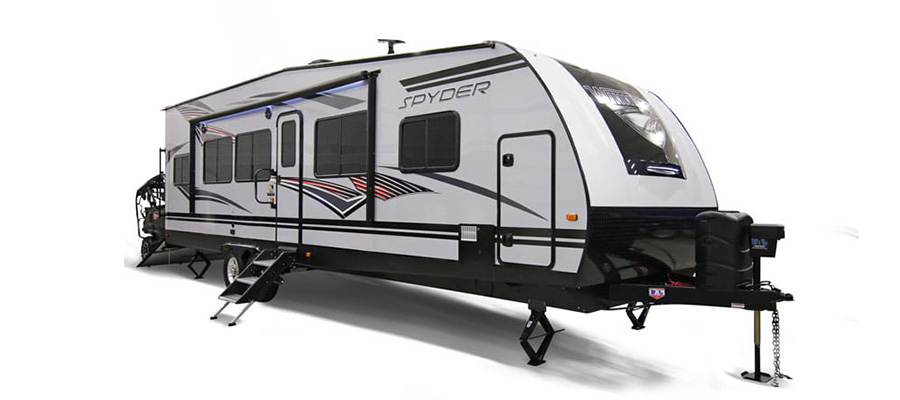 Winnebago Spyder Toy Hauler Travel Trailers and Fifth Wheels