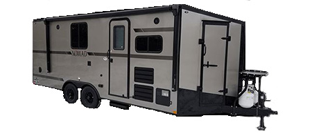 Stealth Nomad Toy Hauler Travel Trailers