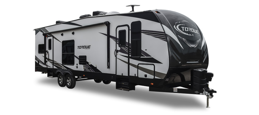 Heartland RV Torque XLT Toy Hauler Travel Trailers