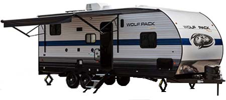 Forest River RV Cherokee Wolf Pack Gold Label Toy Hauler Travel Trailers