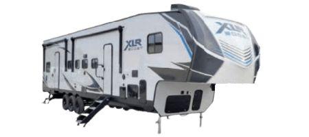 Forest River RV XLR Boost Toy Hauler Fifth Wheels