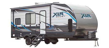 Forest River RV XLR Boost Toy Hauler Travel Trailers