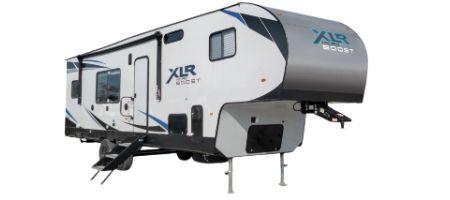 Forest River RV XLR Micro Boost FW Toy Hauler Fifth Wheels