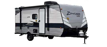 Crossroads RV Zinger Lite Single Axle Travel Trailers