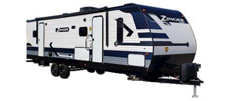 Crossroads RV Zinger Travel Trailers