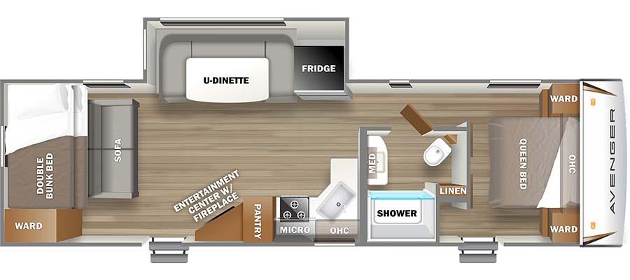 28BHS Floorplan