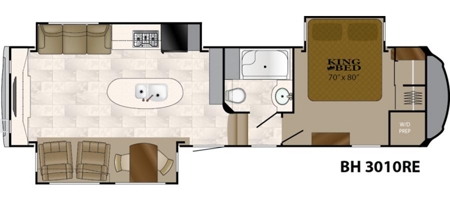 3010RE Floorplan