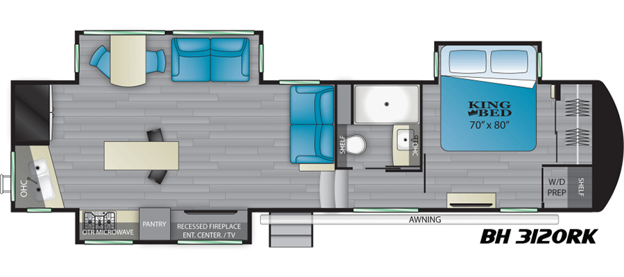 3120RK Floorplan