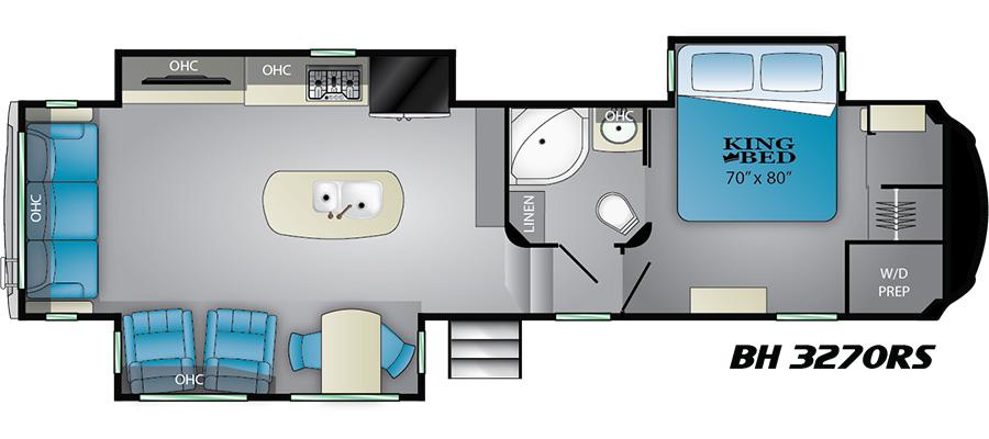 3270RS Floorplan