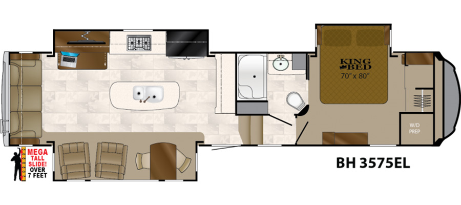 3575EL Floorplan