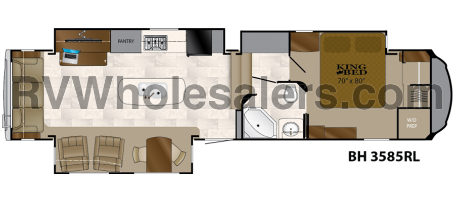 3585RL Floorplan