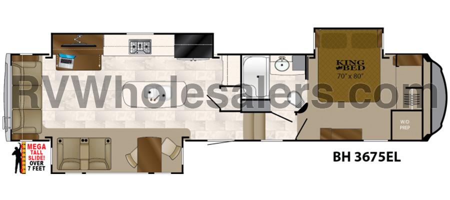 3675EL Floorplan
