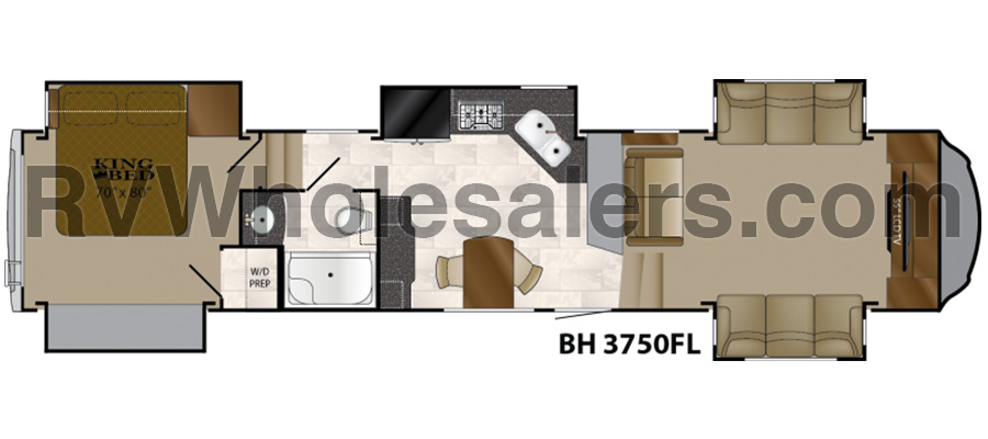 3750FL Floorplan