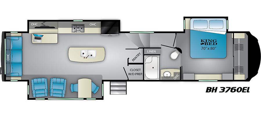 3760EL Floorplan
