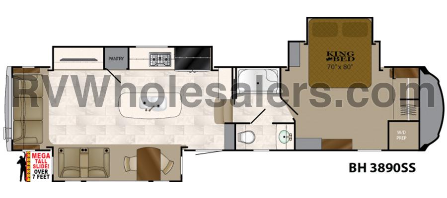 3890SS Floorplan