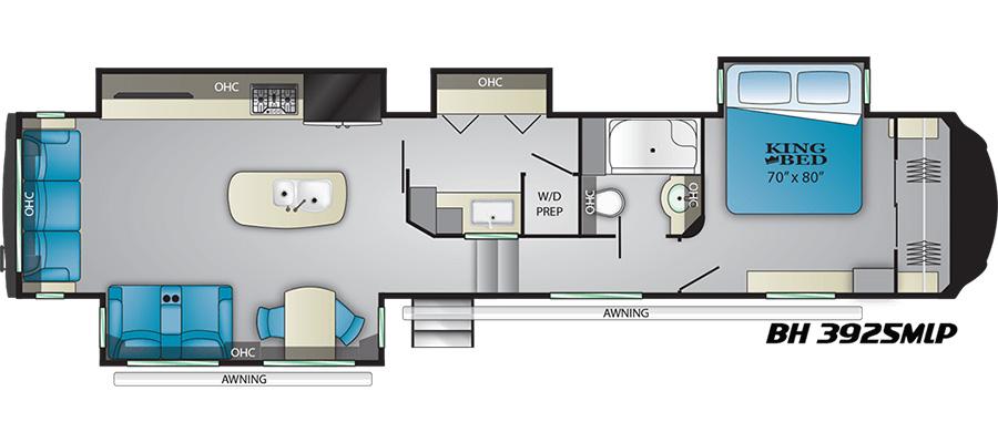 3925MLP Floorplan