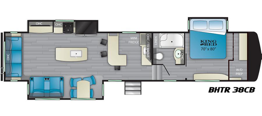 38CB Floorplan