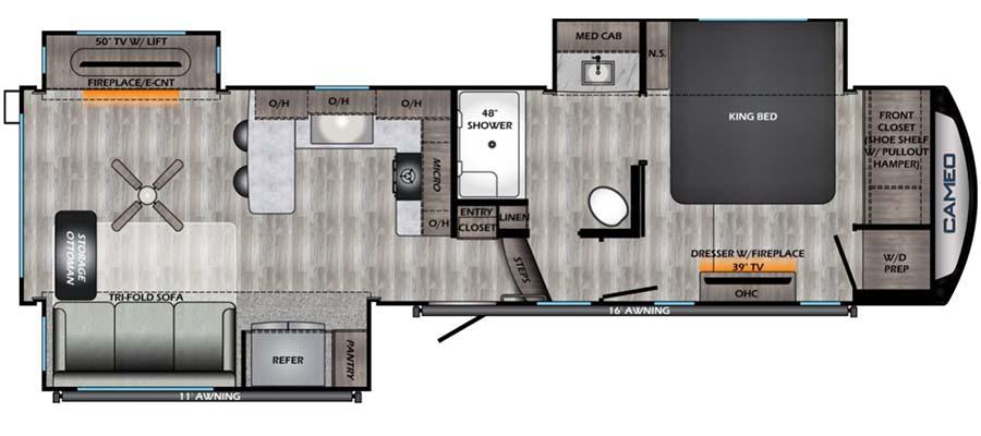 2901RL Floorplan