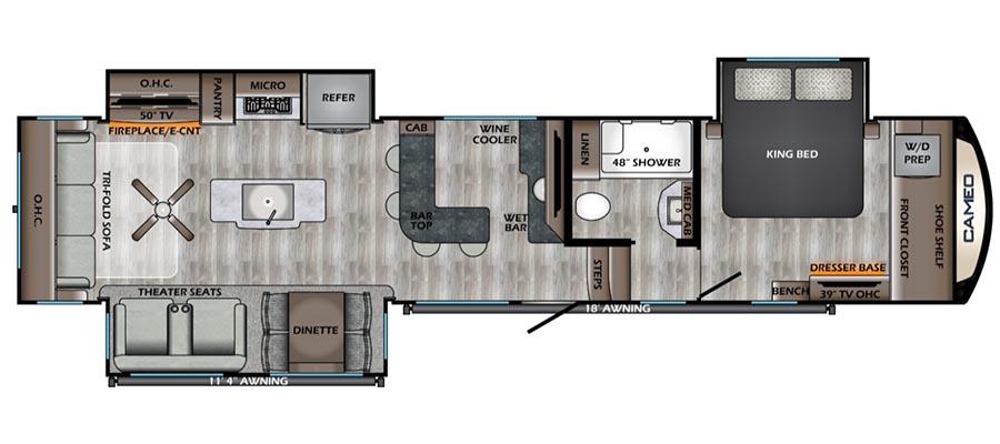 392BR Floorplan