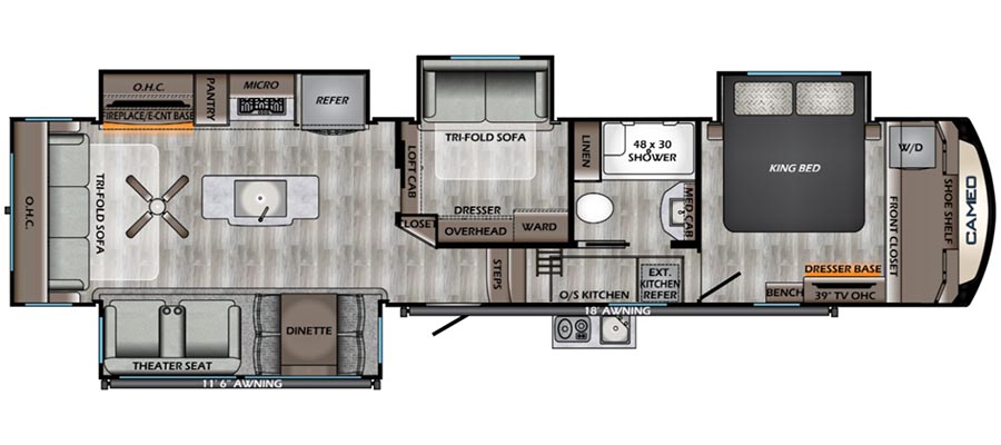396MB Floorplan