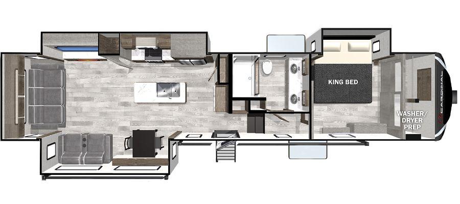 360RLX Floorplan