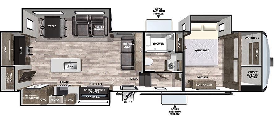 319RKLE Floorplan