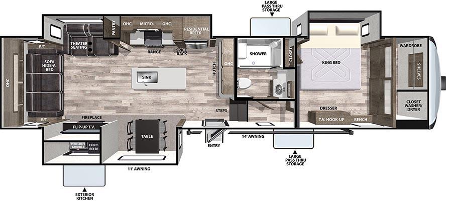322RLLE Floorplan