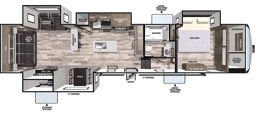 388RDLE Floorplan