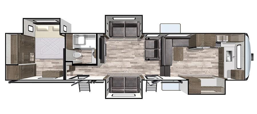 402FKLE Floorplan