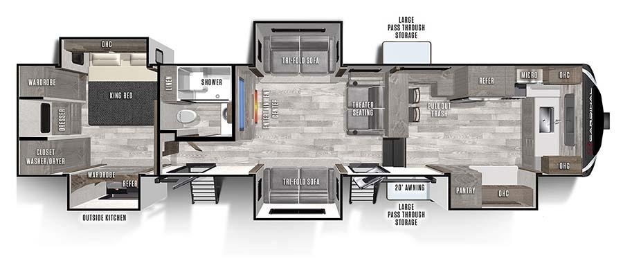 403FKLE Floorplan