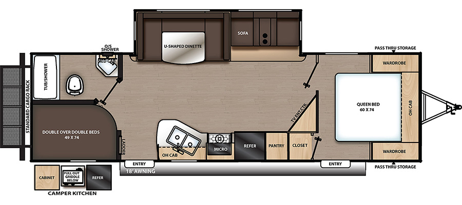 263BHSCK Floorplan