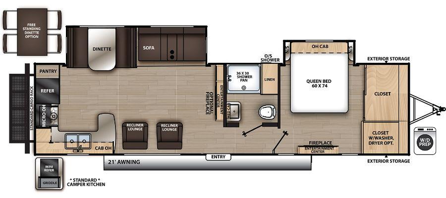 303RKDS Floorplan