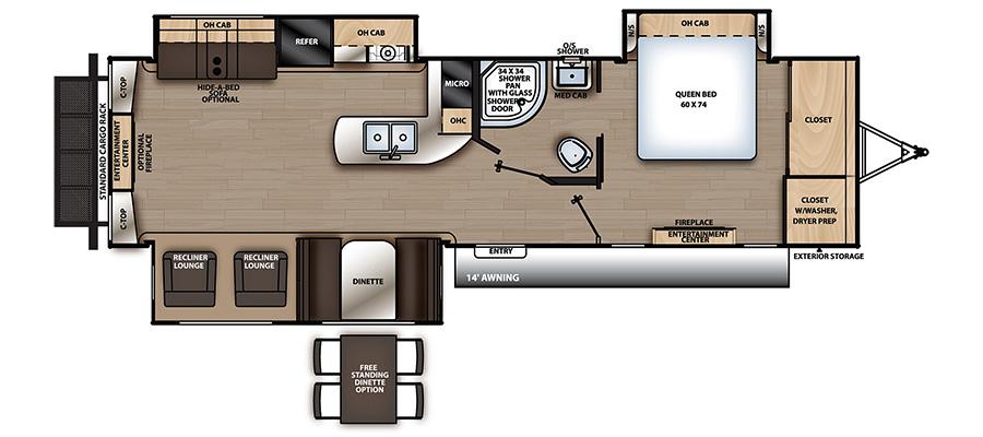333RETS Floorplan