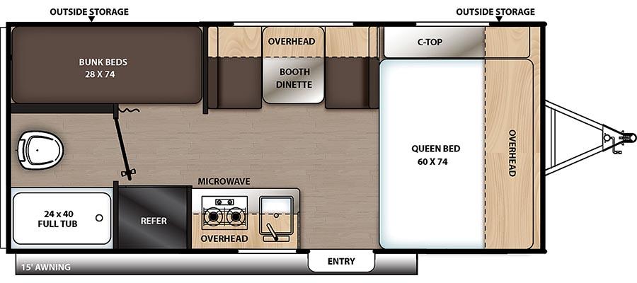 174BH Floorplan