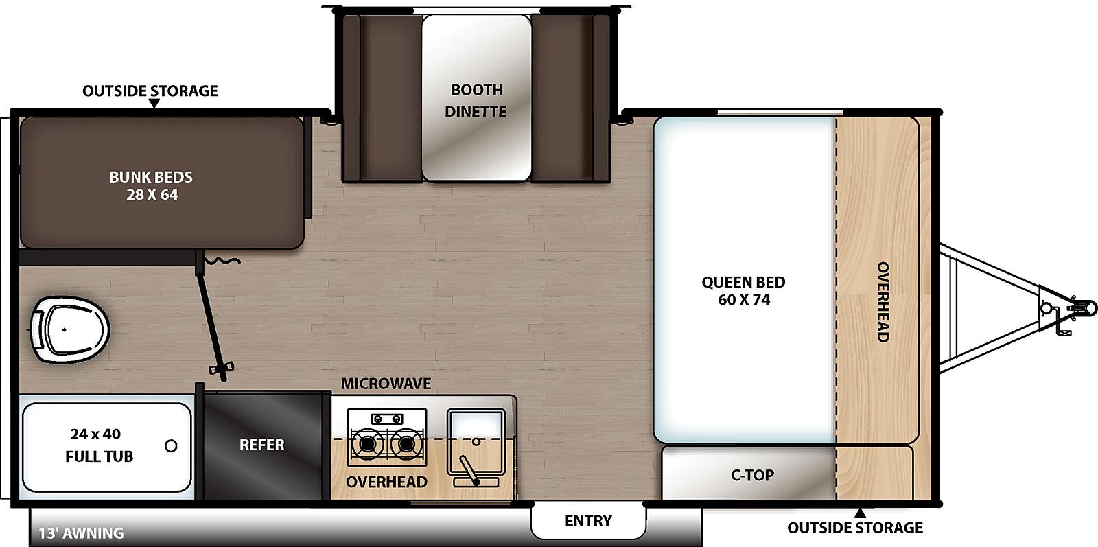 174BHS Floorplan