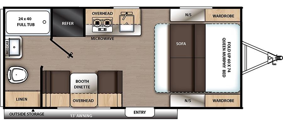 174RB Floorplan