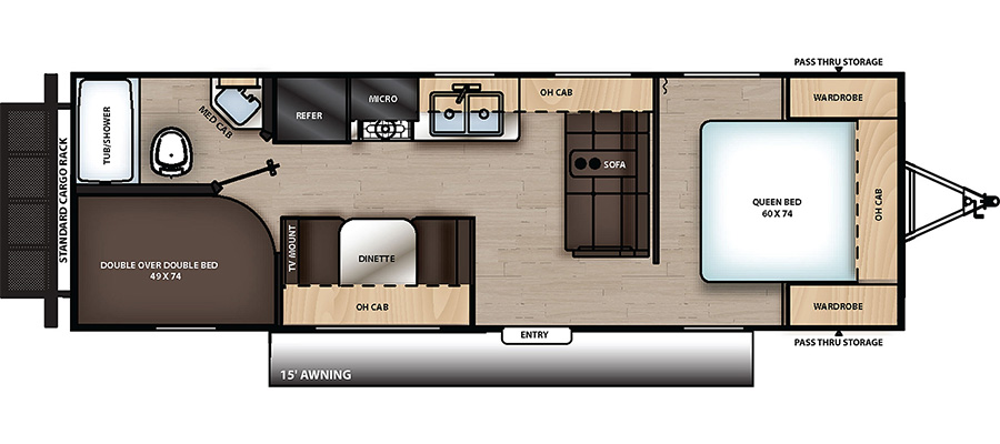 261BH Floorplan