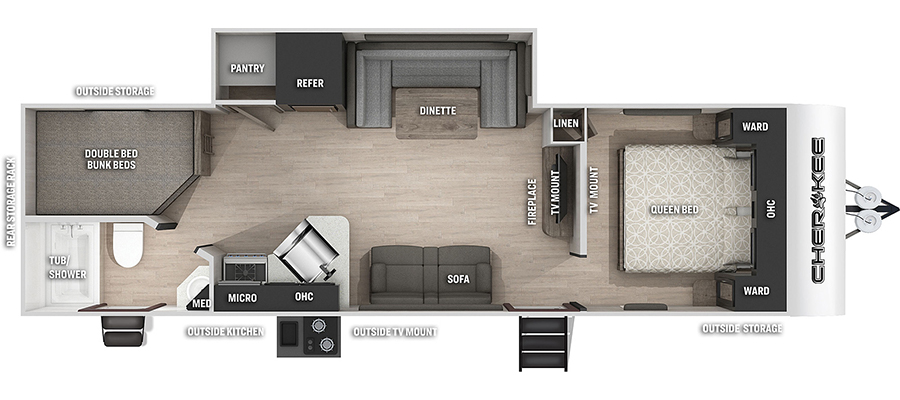 274BRBBL Floorplan