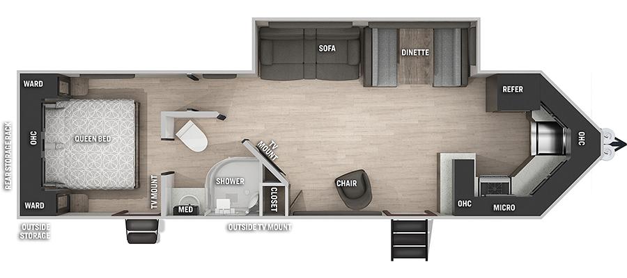 274VFKBL Floorplan