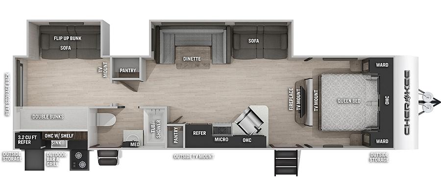 294BHBL Floorplan