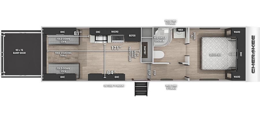 255RR Floorplan