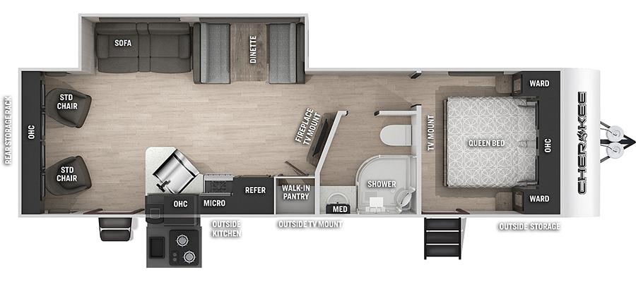 264RLBL Floorplan