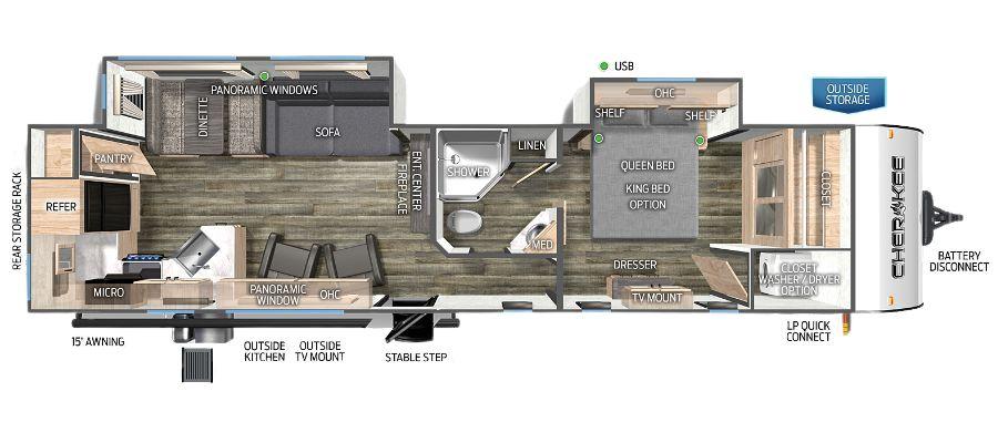 304RK Floorplan